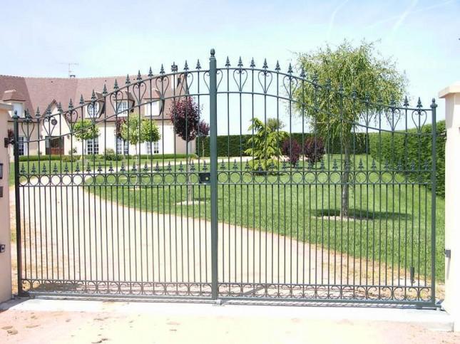 portail chateau