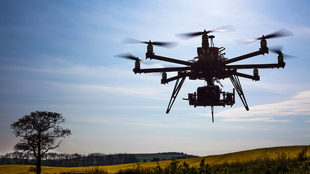 Drone-civil-batiment